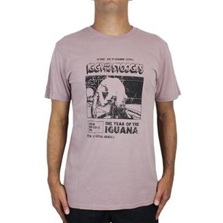 913954214 Camiseta Billabong Iggy Pop Iguana