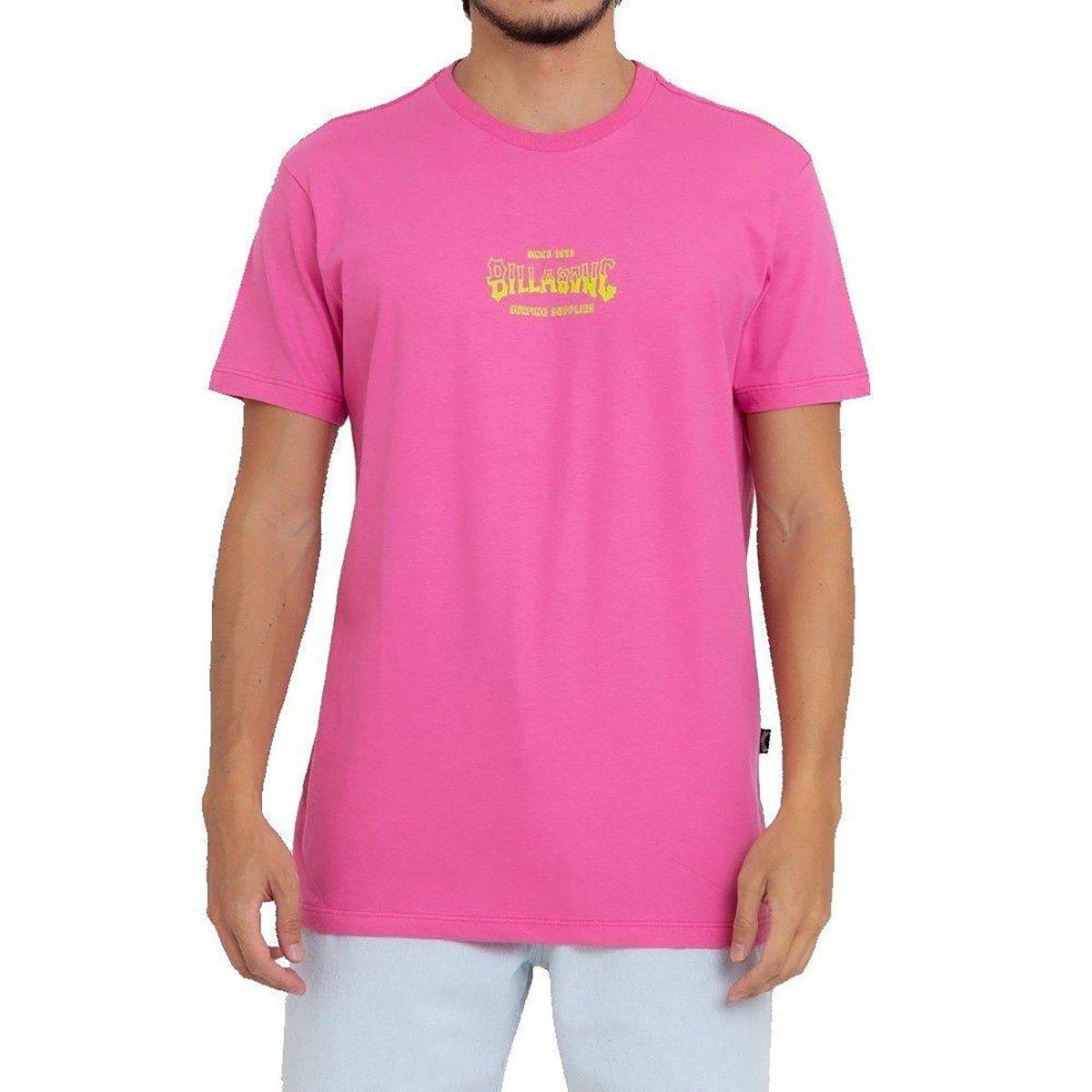 Camiseta Billabong Supply Wave Masculina