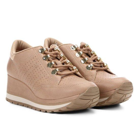 4c12447367 Tênis Anabela Dakota Sneaker Feminino - Rosa