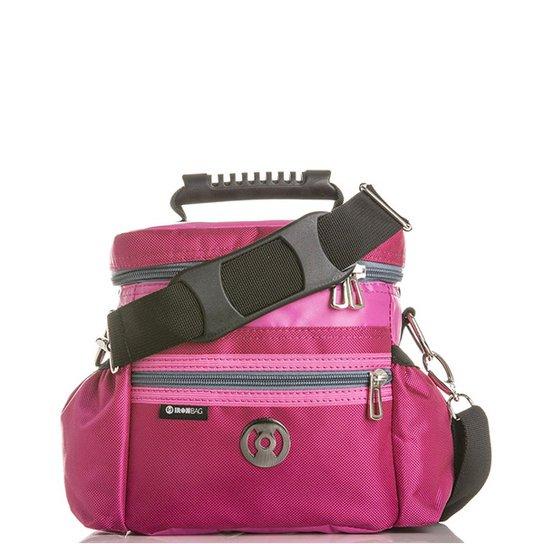 009f22e7d Bolsa Térmica Iron Bag Mini Pop Tamanho P + Combo de acessórios - Rosa