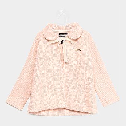 Casaco Infantil Quimby Tweed Feminino