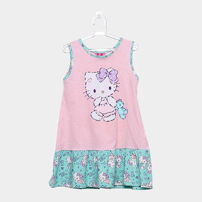 Camisola Infantil Up Baby Hello Kitty