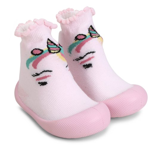 c8df56d306 Meia Infantil Klin Comfort Unicórnio Feminina - Compre Agora