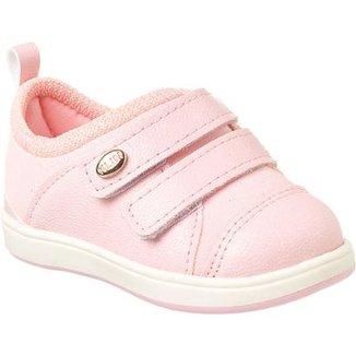 598a2e9b2b Tênis Bebê Klin Mini Gloss Velcros Feminino