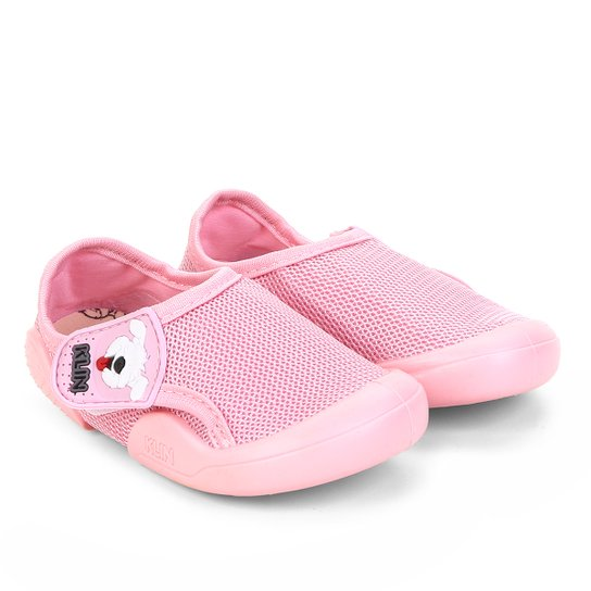 ddd867e5f6 Sapato Infantil Klin New Confort Feminino - Rosa - Compre Agora ...