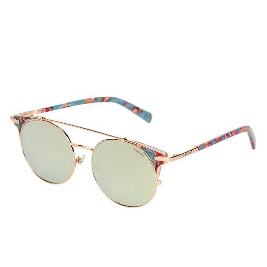 893e241246137 Óculos de Sol Colcci Gatinho Brilho Feminino - Rosê - Compre Agora ...