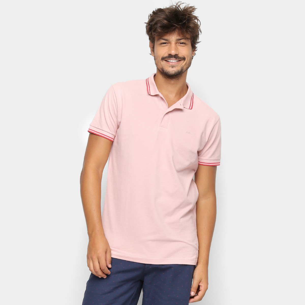 1a5b1a075 Camisa Polo Colcci Logo Masculina
