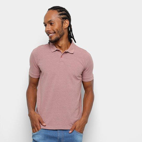 8502251bda Camisa Polo Colcci Lisa Logo Masculina - Rosa - Compre Agora