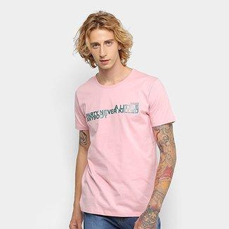 0be0b59cc Camiseta Colcci Estampada Frase Masculina