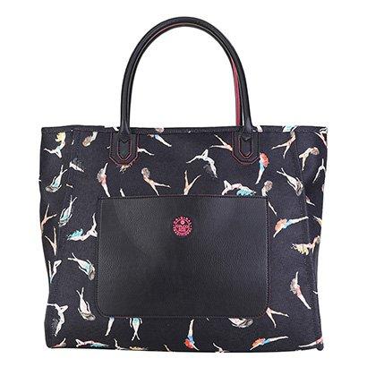 Bolsa Colcci Shopping Bag Lona Estampada Feminina