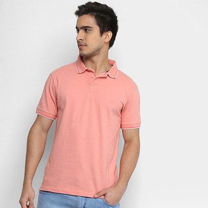 Camisa Polo Forum Piquet Elastano Masculina 7cd300195edf2