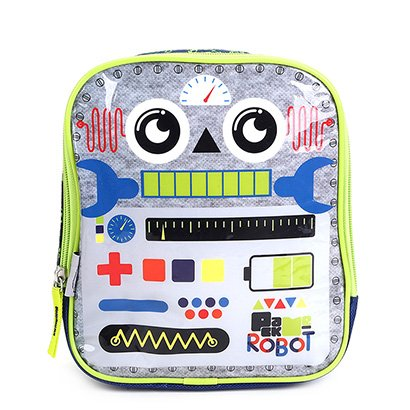 Lancheira Infantil Pacific Pack Me Robot