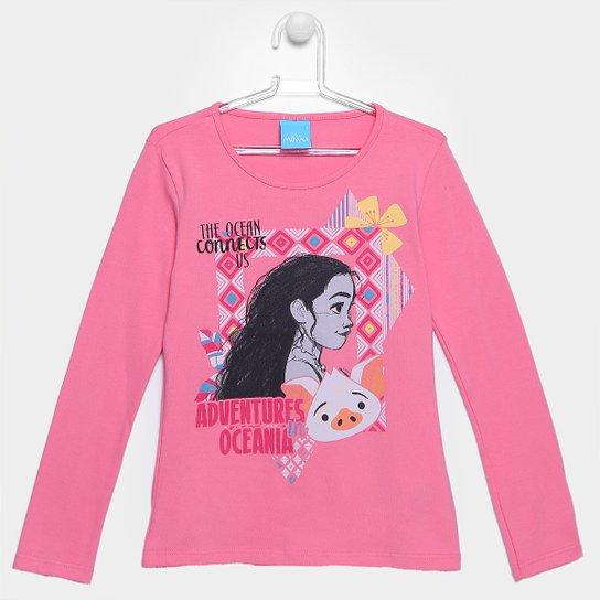 Blusa Malwee Moana Infantil - Compre Agora  2441b933c3847