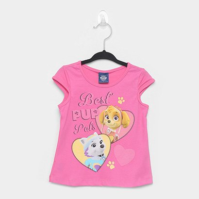 Blusa Infantil Malwee Estampada Ampla Feminina