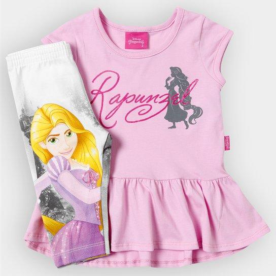 bbbe10446 Conjunto Brandili Princesa Infantil - Compre Agora