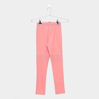 Calça Infantil Legging Brandili Color Feminina