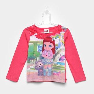 6f7fe6ac9b Blusa Infantil Brandili Rainbow Ruby