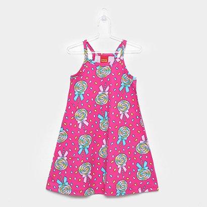 Vestido Infantil Kyly Pirulitos