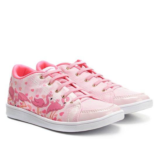 4dad1cd5216 Tênis Infantil Bee Happy Estampa Flamingo Feminino - Compre Agora ...