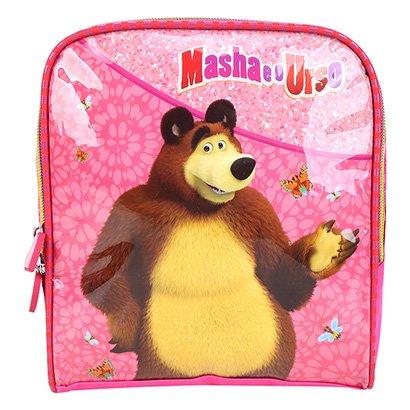 Lancheira Escolar Infantil Luxcel Masha e o Urso Feminina