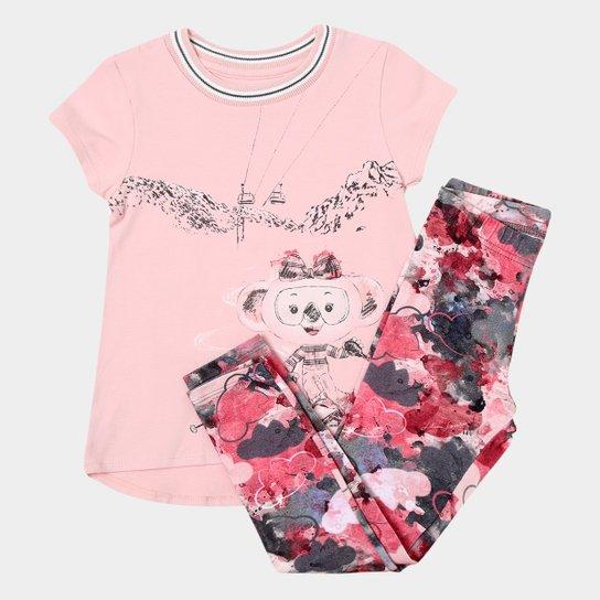 c8a6ba532 Conjunto Infantil Lilica Ripilica Estampado Feminino   Netshoes
