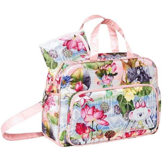 1cfbd7c2f Bolsa Lilica Ripilica Maternidade Floral | Netshoes