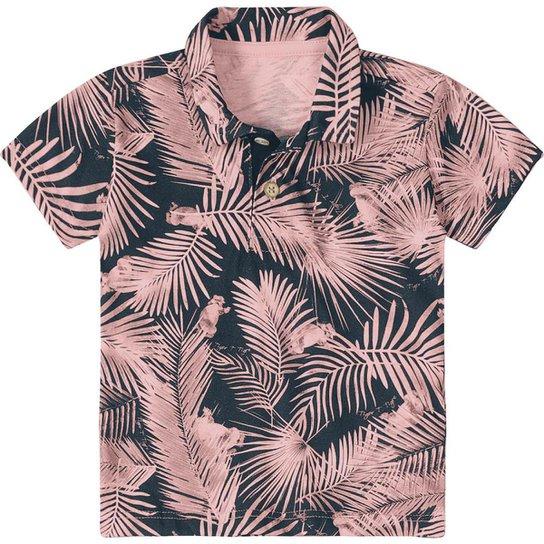a49b78b0d0c82 Camisa Polo Bebê Tigor T. Tigre Estampada Masculina - Compre Agora ...