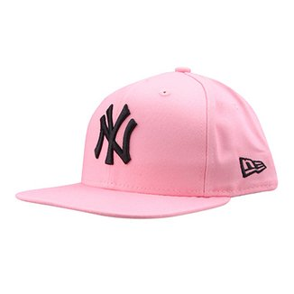Boné New Era MLB New York Yankees Aba Reta Fit 98bc9cf4d13