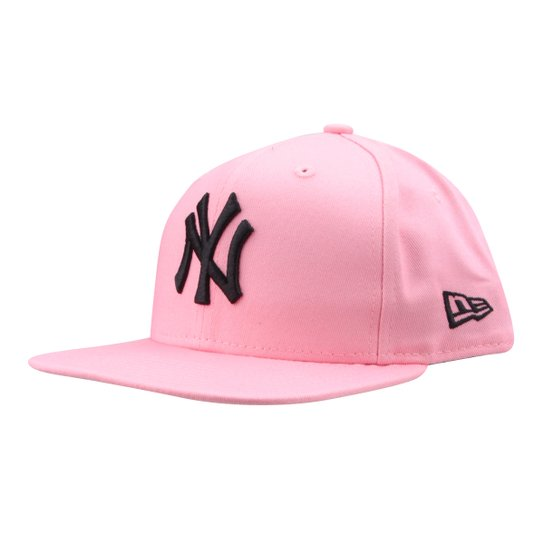 Boné New Era MLB New York Yankees Aba Reta Fit - Compre Agora  52d9b6755d4