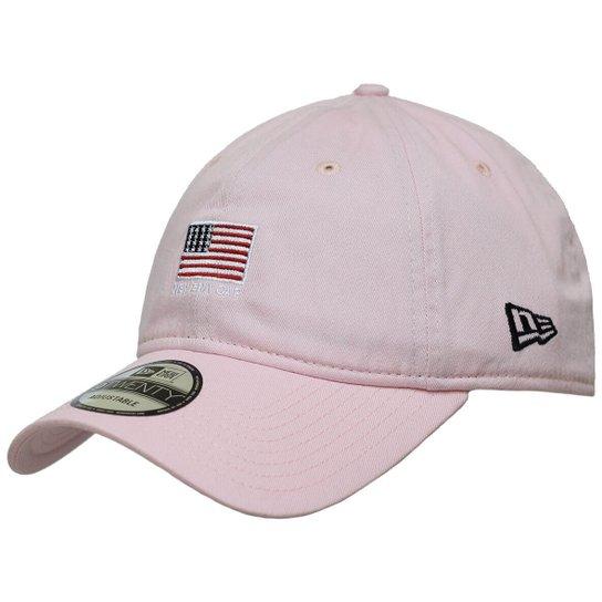 eecf8f9337 Boné New Era Aba Curva Strapback Mini Flag America - Compre Agora ...