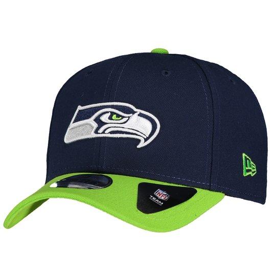 d0a59afdc71b9 Boné Seattle Seahawks 940 NFL New Era Masculino - Azul e Verde ...
