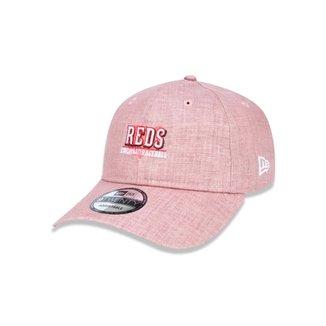 67032e795b1 Boné 920 Cincinnati Reds MLB Aba Curva Strapback New Era