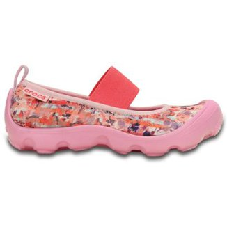 a55300e89edb Sapatilha Crocs Infantil Duet Busy Day Mary Jane