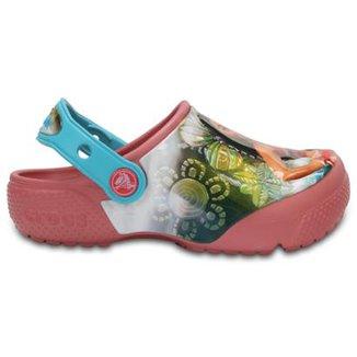 Crocs Infantil Funlab Disney Moana Feminino d5f7e539efd