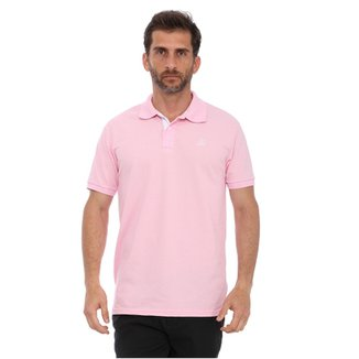 01f547a7ddb0f Compre Camisa Polo Rosa Masculina Online