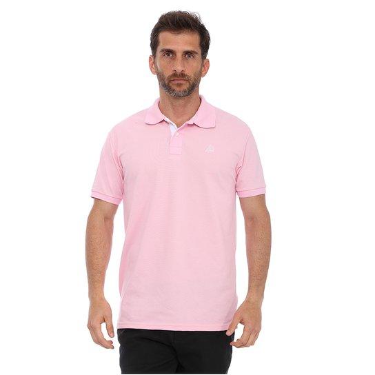 Camisa Polo Clube Náutico Slim Masculino - Rosa - Compre Agora ... 69365cda4f7cd
