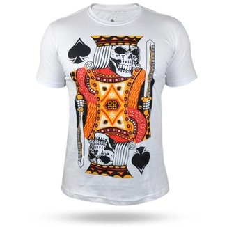539cdc3f8e7ab Camiseta Black Ace The King Of Gamble Masculina