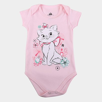 Body Infantil Marlan Disney Marie Feminino