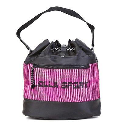 Bolsa Santa Lolla Sport Saco Nylon Feminina