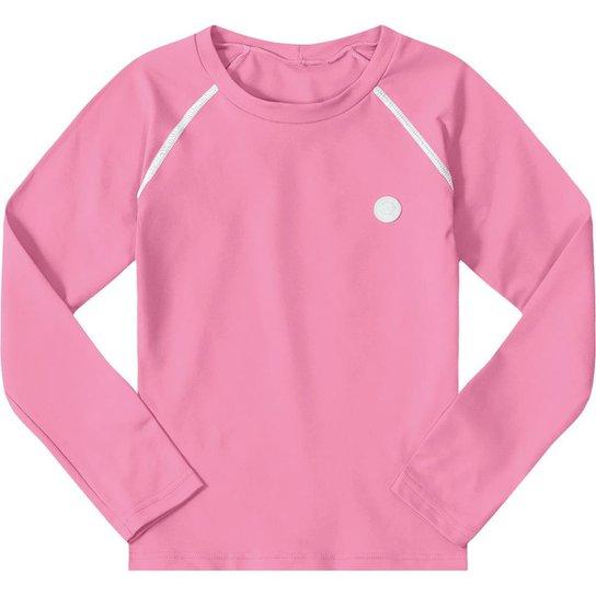 163b32b2d8e0 Camiseta Manga Longa Infantil Marisol Feminina | Netshoes