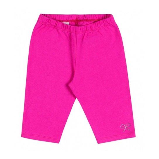 Bermuda Infantil Boca Grande Básico Feminino - Rosa - Compre Agora ... 7a944d67cfb5b