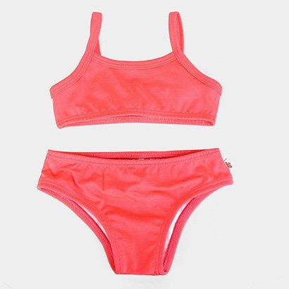 Biquini Infantil Boca Grande Proteção UV 50+ Feminino