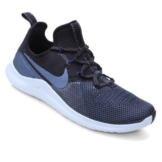 8a2c1b374e3 Tênis Nike Free Tr 8 Metalic Feminino - Preto e Azul - Compre Agora ...