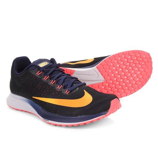 b0c2cee430 Tênis Nike Air Zoom Elite 10 Masculino - Preto e Azul | Netshoes