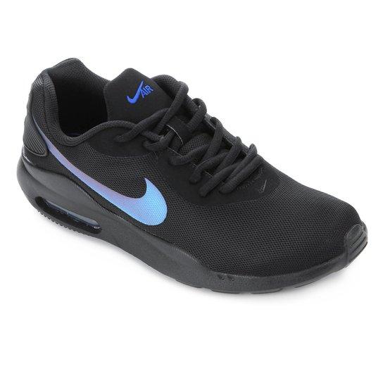 e387c121c Tênis Nike Air Max Oketo Masculino - Preto e Azul - Compre Agora ...