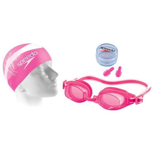 d7cc505b4 Kit de Natação Speedo Swim 3.0 - Rosa - Compre Agora