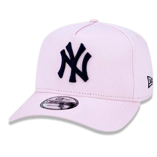 2d3d6b7196c6e Boné New York Yankees 940 Veranito Logo Rosa - New Era - Rosa ...