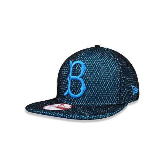 f799528c35 Boné 950 Original Fit Brooklyn Dodgers MLB Aba Reta Snapback New Era -  Preto+Azul