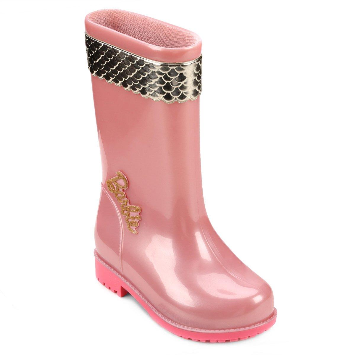 7e3e10b97b5 Galocha Infantil Grendene Barbie Magic Girl Feminina