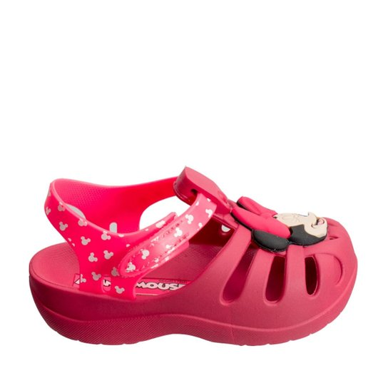 01f39021395 Sandália Infantil Grendene Minnie Soft 21679 - Compre Agora